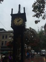 Vancouver- Steamclock