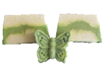 Avocadoseife mit echter Avocado